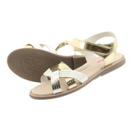 Sandály kovové holky American Club GC23 4