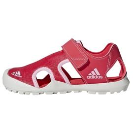 Sandály Adidas Capitan Toey Jr BC0702 růžový 2