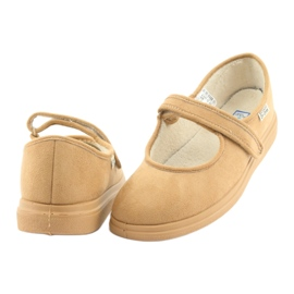 Befado dámské boty pu 462D003 hnědý 5