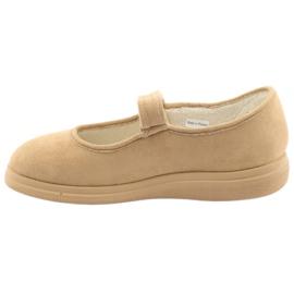 Befado dámské boty pu 462D003 hnědý 3