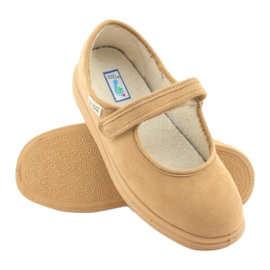 Befado dámské boty pu 462D003 hnědý 6