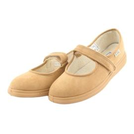 Befado dámské boty pu 462D003 hnědý 4