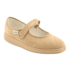 Befado dámské boty pu 462D003 hnědý 2