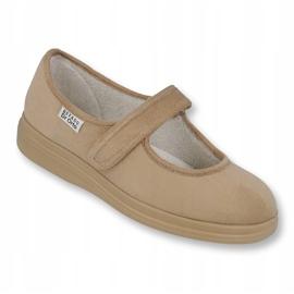 Befado dámské boty pu 462D003 hnědý 1