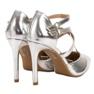 Kylie Lesklé módní knoflíky šedá 5