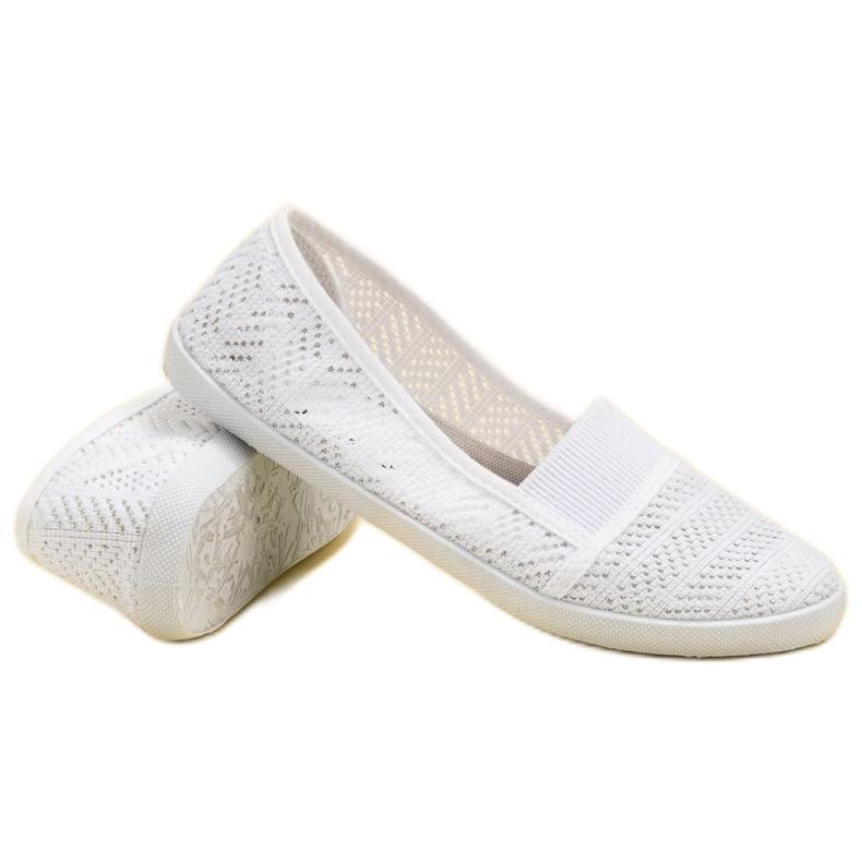Mckeylor bílá Textilní balerína obrázek 1