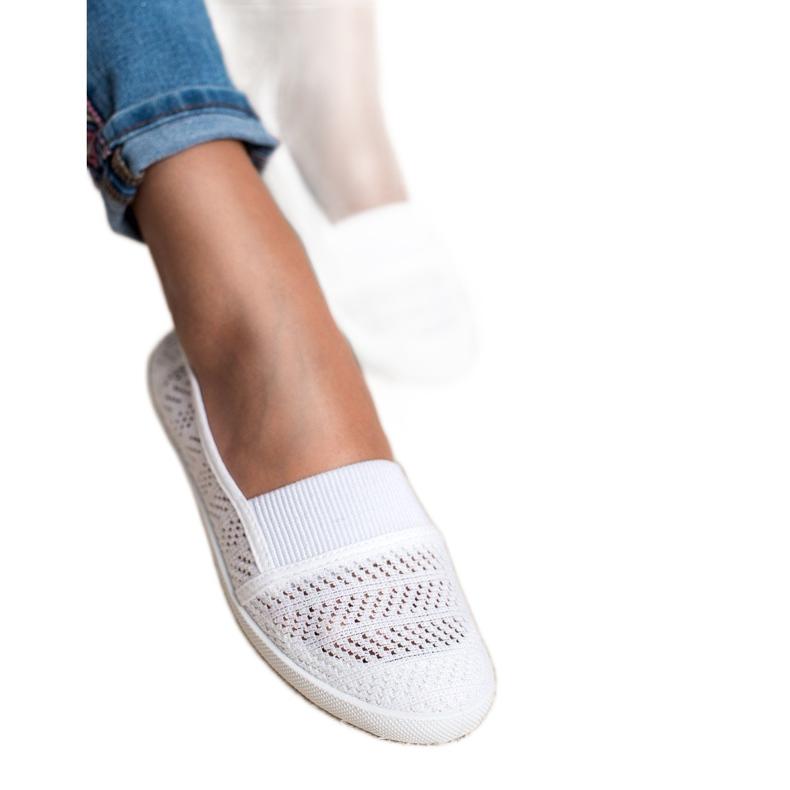 Mckeylor bílá Textilní balerína obrázek 3
