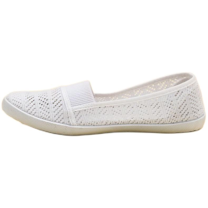 Mckeylor bílá Textilní balerína obrázek 6