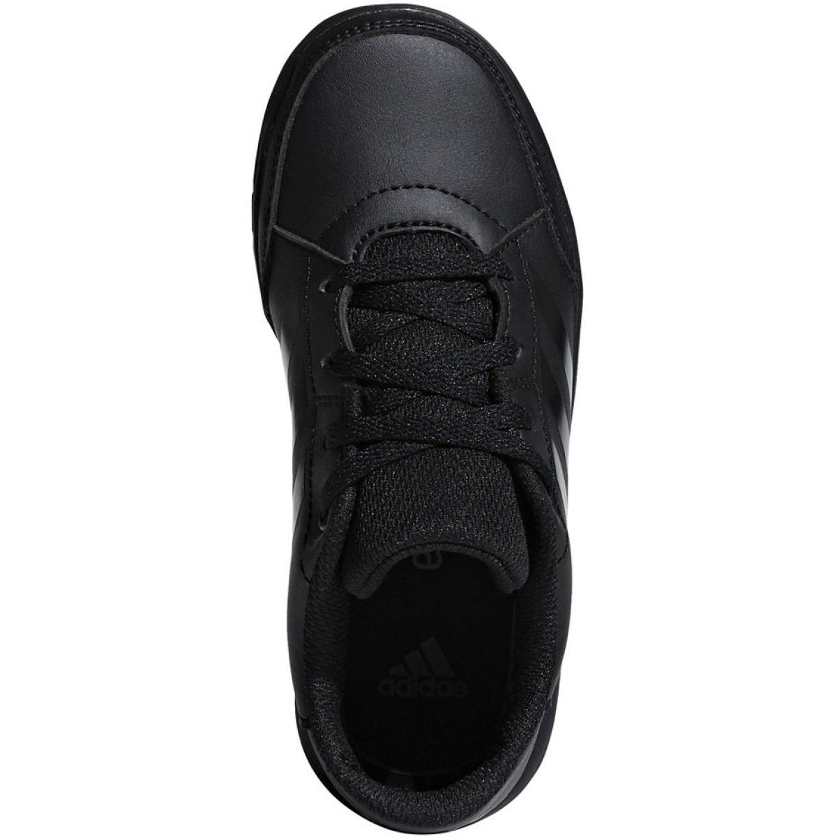 Černá Adidas AltaSport K Jr. D96873 boty