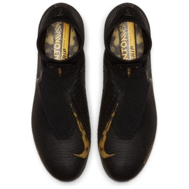 Fotbalová obuv Nike Phantom Vsn Elite Df Fg M AO3262-077 černá černá 2
