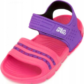Sandály Aqua-speed Noli pink purple col.39 1