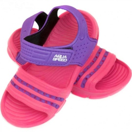Sandály Aqua-speed Noli pink purple col.39 2