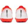 Nike Mercurial Vapor X 12 Akademie Tf M AH7384-801 Kopačky bílá, oranžová bílá 4
