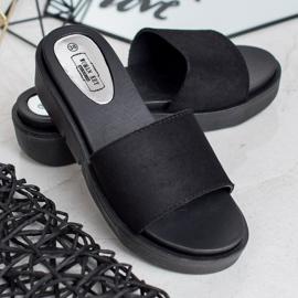 SHELOVET Flip Flops černá 1
