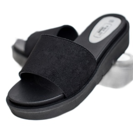 SHELOVET Flip Flops černá 3