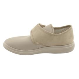 Befado dámské boty pu 036D005 hnědý 3