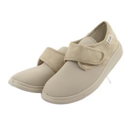 Befado dámské boty pu 036D005 hnědý 4