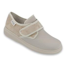 Befado dámské boty pu 036D005 hnědý 1