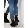 Dámské boty černé 4169 Černé černá 4