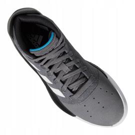 Obuv Adidas Pro Adversary 2019 M BB9190 šedá šedá / stříbrná 11