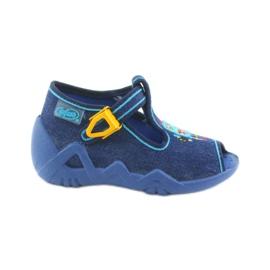 Dětská obuv Befado 217P103 modrý 1