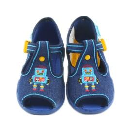 Dětská obuv Befado 217P103 modrý 4