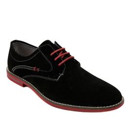 Černé elegantní boty 6-688 černá 1