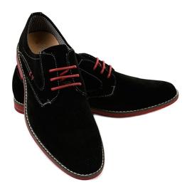 Černé elegantní boty 6-688 černá 3