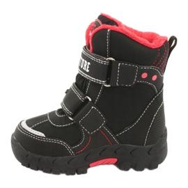 American Club Americké boty s membránovou černou RL35 černá červená 2