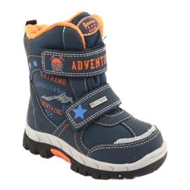American Club Americké boty na boty s RL35 tmavě modrou válečné loďstvo oranžový 1