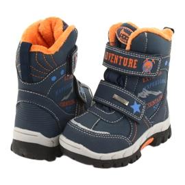 American Club Americké boty na boty s RL35 tmavě modrou válečné loďstvo oranžový 3