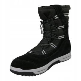 Timberland Snow Stomper Pull On Wp Jr A1UIK zimní obuv černá 1