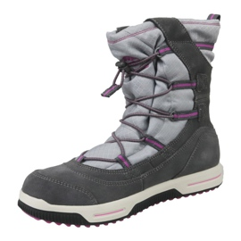 Timberland Snow Stomper Pull On Wp Jr A1UJ7 zimní boty šedá 1