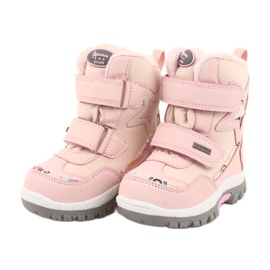 Boty American Club s membránou RL37 star pink růžový 3