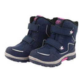American Club Americká membránová obuv HL26 válečné loďstvo růžový 3