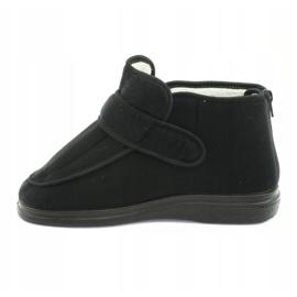Befado dámské boty pu orto 987D002 černá 3