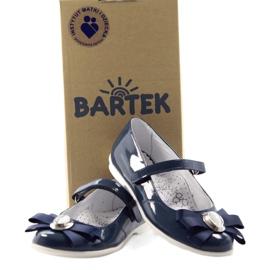 Baletky dětské boty Bartek 45418 tmavě modré bílá vícebarevný modrý 4
