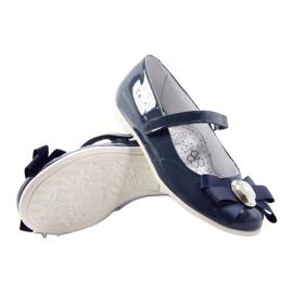 Baletky dětské boty Bartek 45418 tmavě modré bílá vícebarevný modrý 3