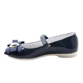 Baletky dětské boty Bartek 45418 tmavě modré bílá vícebarevný modrý 2