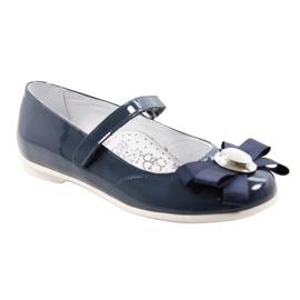 Baletky dětské boty Bartek 45418 tmavě modré bílá vícebarevný modrý 1