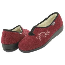 Befado dámské boty pu 940D355 červená 5