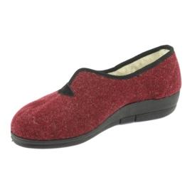 Befado dámské boty pu 940D355 červená 3