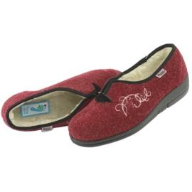 Befado dámské boty pu 940D355 červená 6