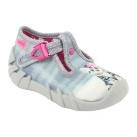Dětská obuv Befado Kitty 110P365 šedá 1