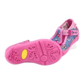 Befado růžová dětská obuv 213P113 modrý růžový 5