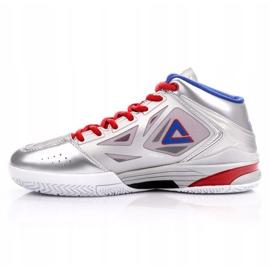 Peak TP9 Quickness 2 E33323A M 62266-62270 basketbalové boty stříbro šedá / stříbrná 1
