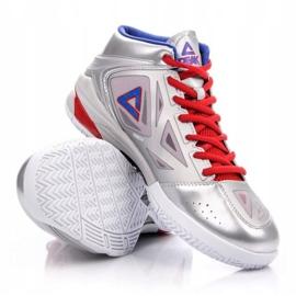 Peak TP9 Quickness 2 E33323A M 62266-62270 basketbalové boty stříbro šedá / stříbrná 3