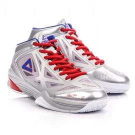 Peak TP9 Quickness 2 E33323A M 62266-62270 basketbalové boty stříbro šedá / stříbrná 4
