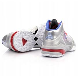 Peak TP9 Quickness 2 E33323A M 62266-62270 basketbalové boty stříbro šedá / stříbrná 5
