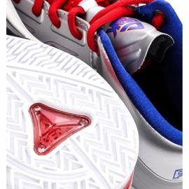 Peak TP9 Quickness 2 E33323A M 62266-62270 basketbalové boty stříbro šedá / stříbrná 7